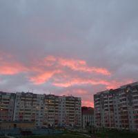 14 мкр на закате, Нефтеюганск