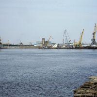 Нефтеюганск. Речной грузовой порт, Нефтеюганск