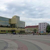 Пешеходная зона в центре Нефтеюганска, Нефтеюганск