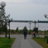 Сквер на набережной, Нефтеюганск