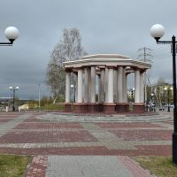 """Rotunda """"City born by oil"""", Нефтеюганск"""