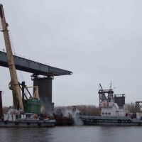 мост через Вах, осень 2013, Излучинск