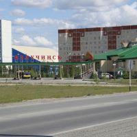 автовокзал, Излучинск