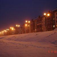 Вечерняя набережная, Излучинск