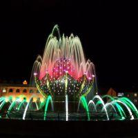 Фонтан ночью 4, Ханты-Мансийск