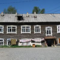 Old house in Khanty-Mansiysk, Ханты-Мансийск