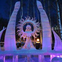 Богиня солнца. Ледовые скульптуры 2011, Ханты-Мансийск