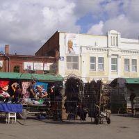 Markt in Barnaul, Барнаул