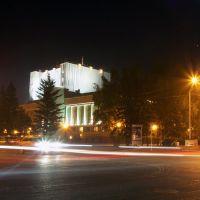 Ночная иллюминация, Барнаул
