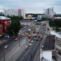 """Осветительная мачта стадиона """"Локомотив"""" [2011], Барнаул"""