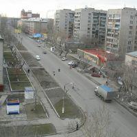 ул.Комсомольская. Весна 2005, Барнаул