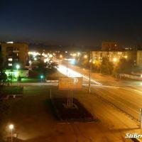 Коммунарский, 23 [6 эт]. Night, Бийск