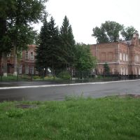 Алтай. Бийск. Бывшая женская гимназия. Ныне главные корпуса пединститута, Бийск