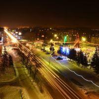 Новый год 2012: Центральная ёлка, Бийск