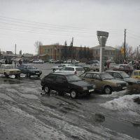 Обелиск на пересечении улиц Свердлова и Ленина, Волчиха