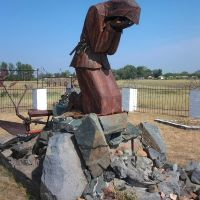 "The memorial ""Farewell of Slavianka"", Горно-Алтайск"