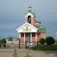 Никольская церковь в г.Горняке, Горняк