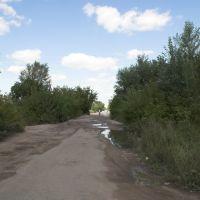 """улица Ленинградская - Магазин """"Южный"""" (2007 год), Горняк"""