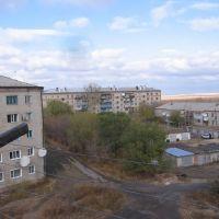 Вид № 2 с балкона ул. Миронова корпус 4 кв. 97, Горняк