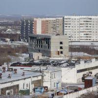 "Вид с крыши Мет. 17 на ""камчатку"", Заринск"