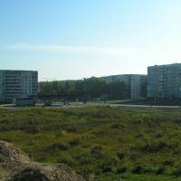 Перекрёсток пр. Строителей и ул. Союза Республик, Заринск