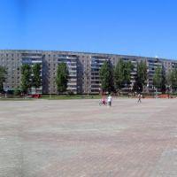 Площадь у ДК Металлург 05062010, Заринск