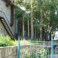 ПТУ41 Цех Станочников (вид сзади), Заринск