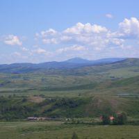 змеиногорск вид  с сопки маяк, Змеиногорск