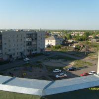 вид с крыши моего дома, Камень-на-Оби