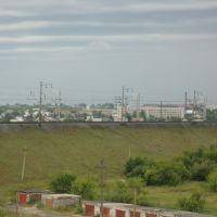 Вид с крыши дома на 330-й квартал, Камень-на-Оби