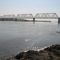 Eisenbahnbrücker über den Ob, Камень-на-Оби