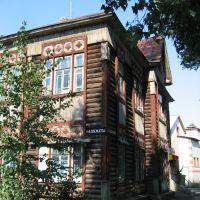 eines der ältesten Häuser in Kamen am Ob, Камень-на-Оби