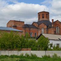 Церковь Богоявления господня на территории Богоявленского женского монастыря (июнь 2013г.), Камень-на-Оби