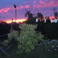 вечернее небо- закат, Ключи