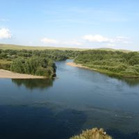остров на реке Чарыш у села Краснощеково, Краснощеково