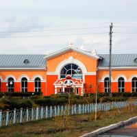 Вокзал станции Кулунда, Кулунда