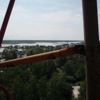 Переезд через озеро, Мамонтово