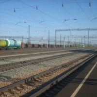Станция Алтайская, Вид на север, Новоалтайск