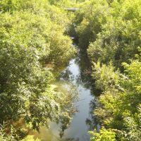 Речка с моста, Новоалтайск