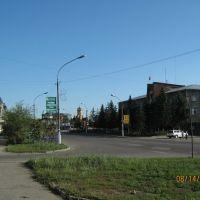 Пересечение улиц Октябрьской и Барнаульской, Новоалтайск