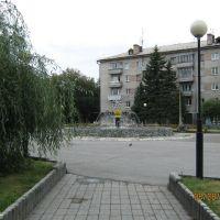 Переделанный фонтан, Новоалтайск