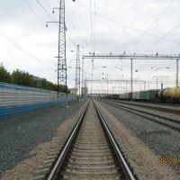 Вид в сторону станции Алтайская, Новоалтайск