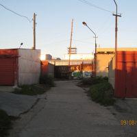 Конец ул. Барнаульской, Новоалтайск