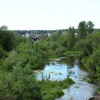 Речка Касмала у плотины, Павловск