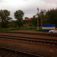 по дороге Алматы - Барнаул (155) ж/д, Поспелиха