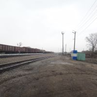 Станция Поспелиха, Вид на север, Поспелиха