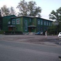 старый дом пионеров и библиотека, Ребриха