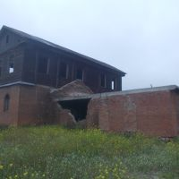 Бывшая мельница вид на крупорушку, Ребриха