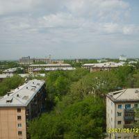 Панорама Рубцовска с 10 этажа, Рубцовск