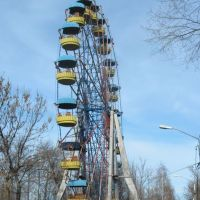 A Ferris Wheel in the Kirovs Park. 2010 November, Рубцовск